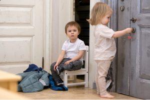 ребенок соблюдает распорядок дня