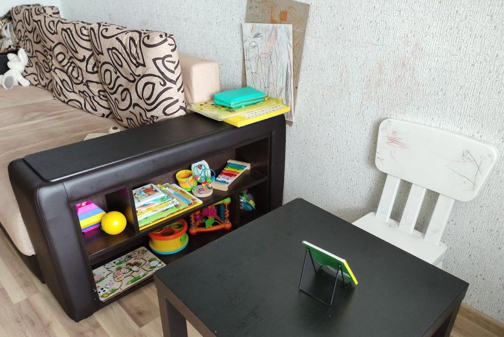 Идеи организации пространства для ребёнка в маленькой квартире