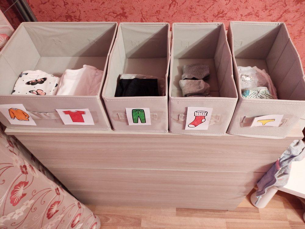 Идея гардероба для маленького ребенка