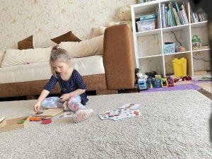 ребёнок концентрирует внимание