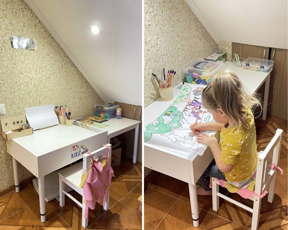 зона творчества для самостоятельного ребёнка