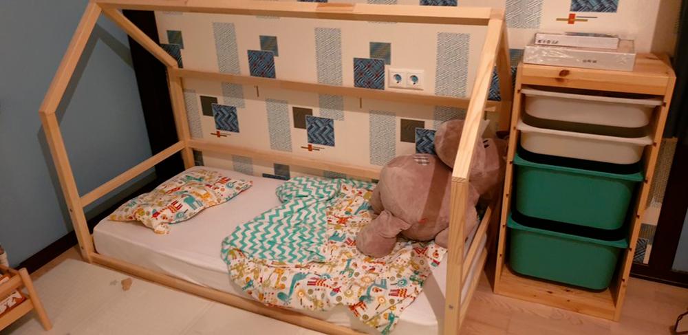 детская кроватка по Монтессори