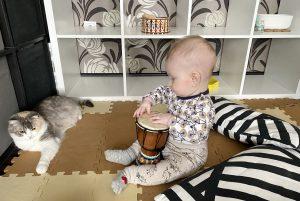 Чем заниматься с ребенком 6 7 месяцев