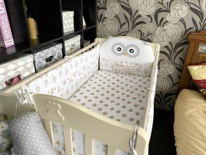 Где спать малышу до года