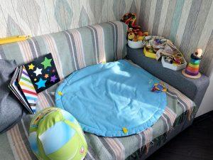 Как организовать детские вещи до года
