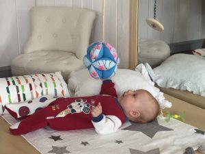место для развития движений младенца