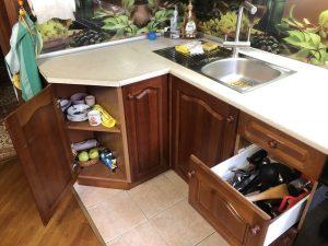 Детские полки на кухне