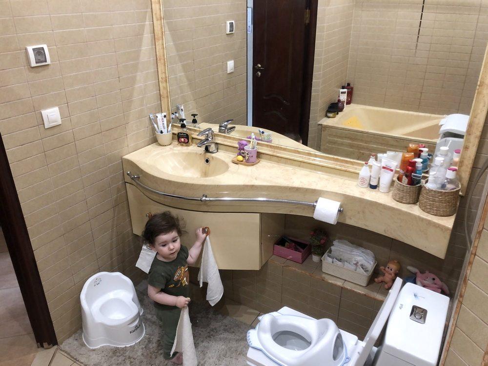 Обустройство туалета для малыша