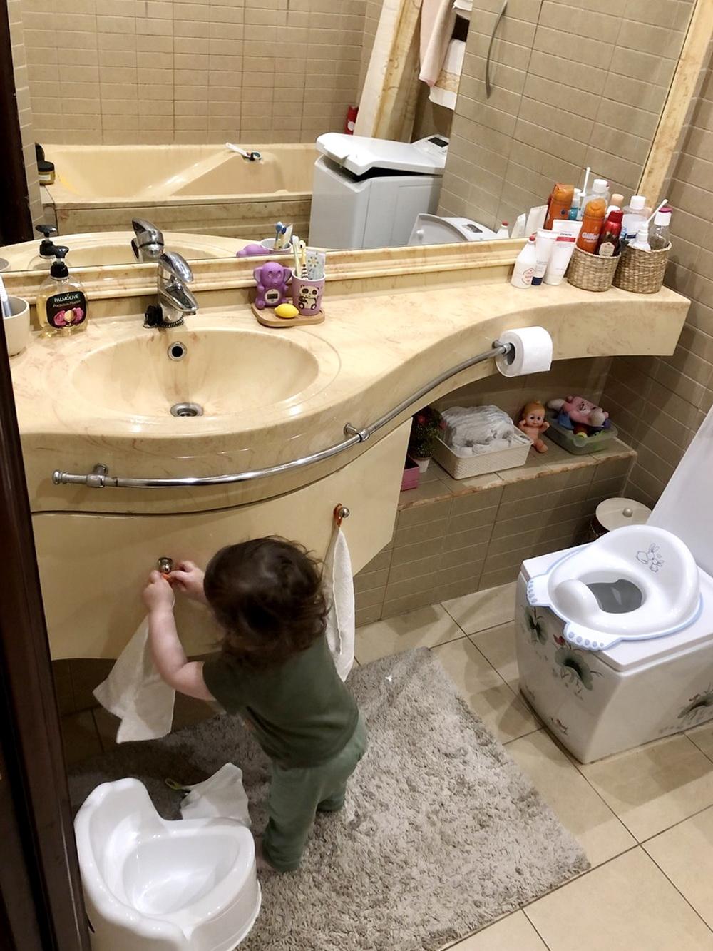 Санузел для малыша