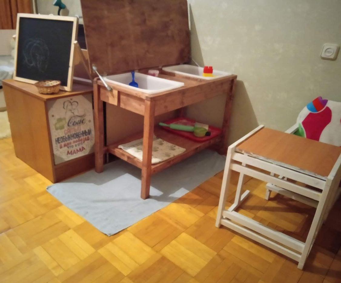 Место для творческих занятий