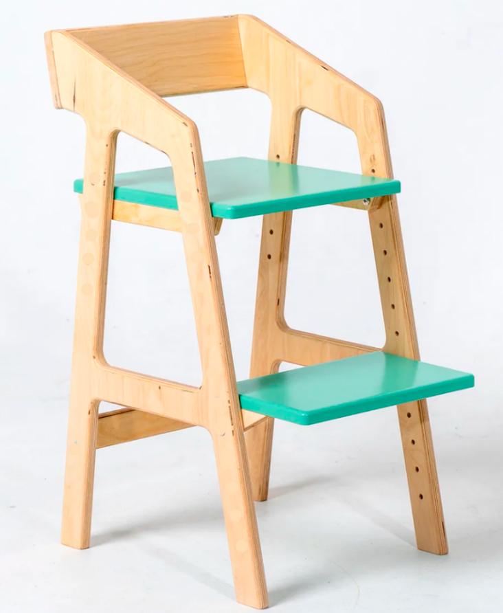 стул голубой