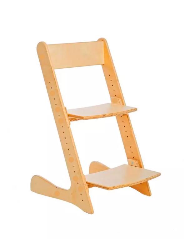 стул с прямой спинкой
