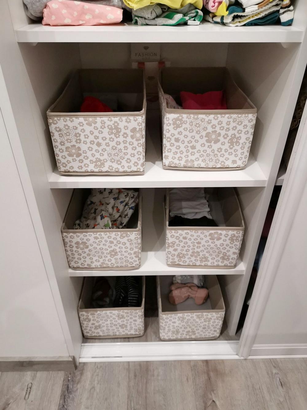 Хранение детской одежды в шкафу
