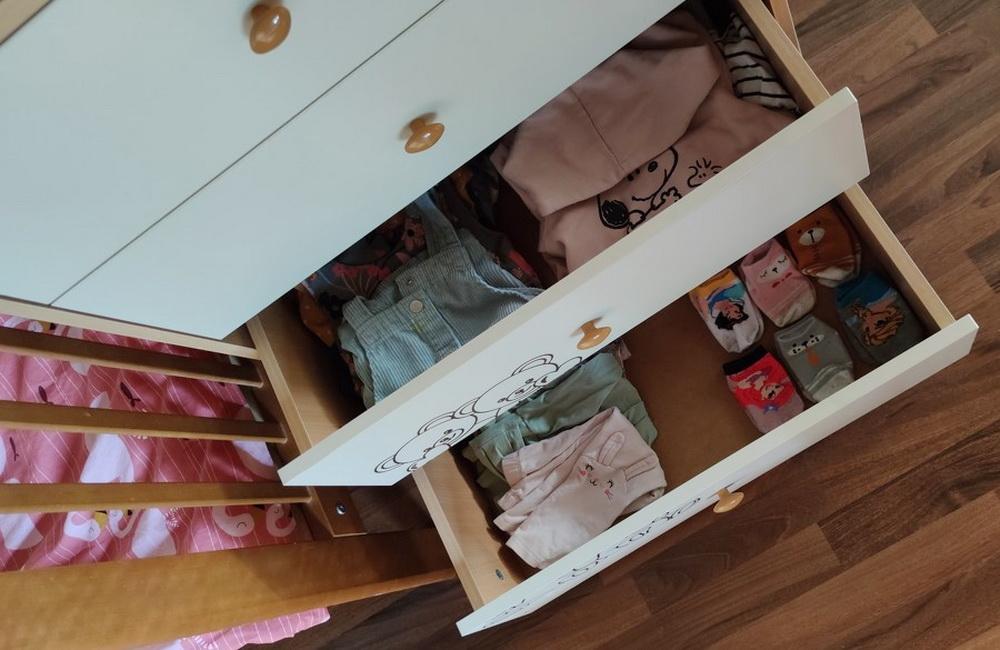 Комод для одежды ребёнка