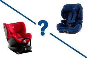 выбираем автокресло для ребёнка