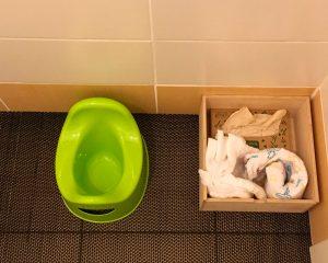 туалет и подгузники