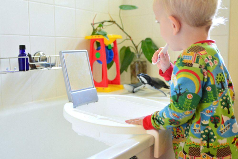 Как обустроить ванную и туалет по Монтессори